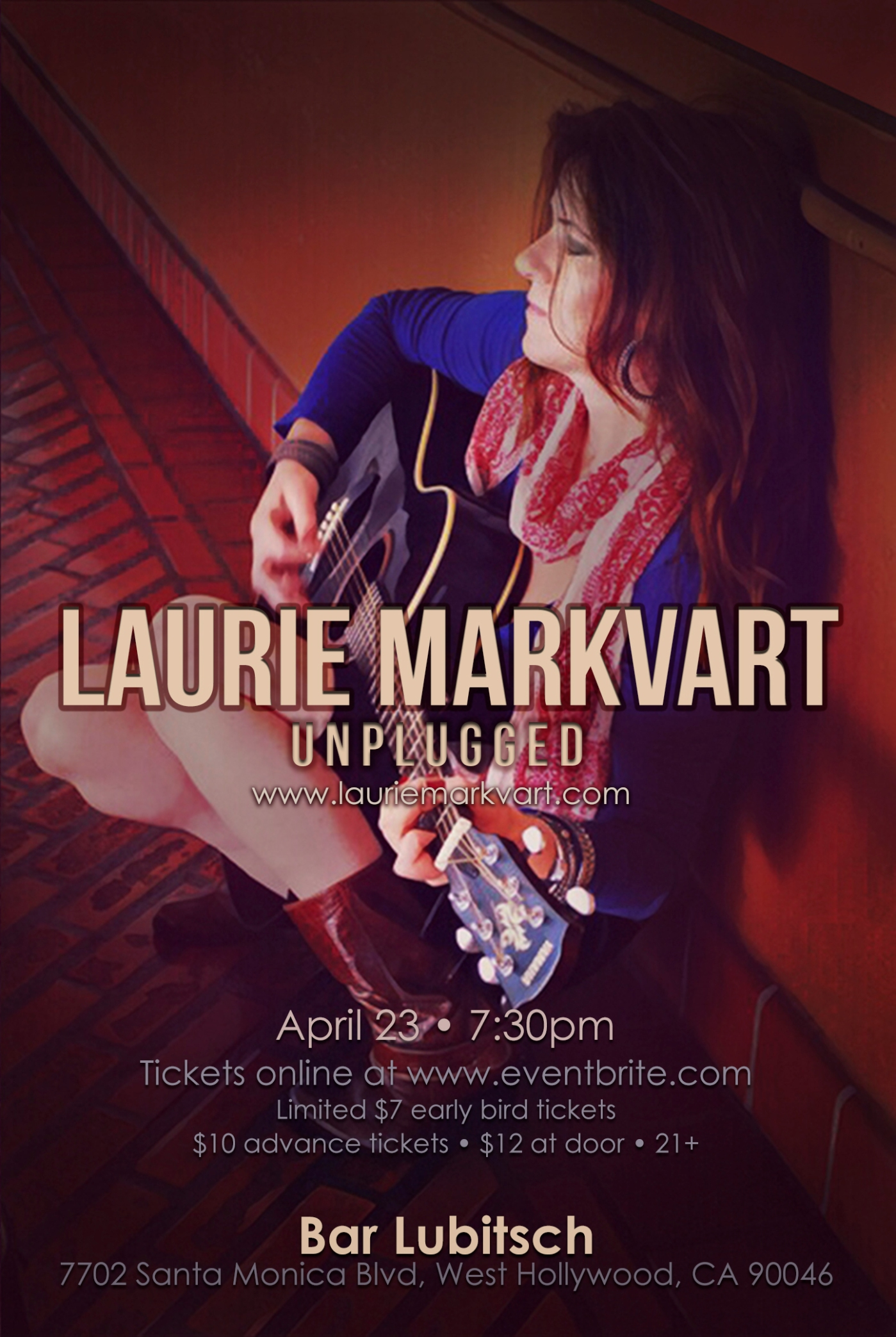 Laurie Markvart Live at Bar Lubitsch