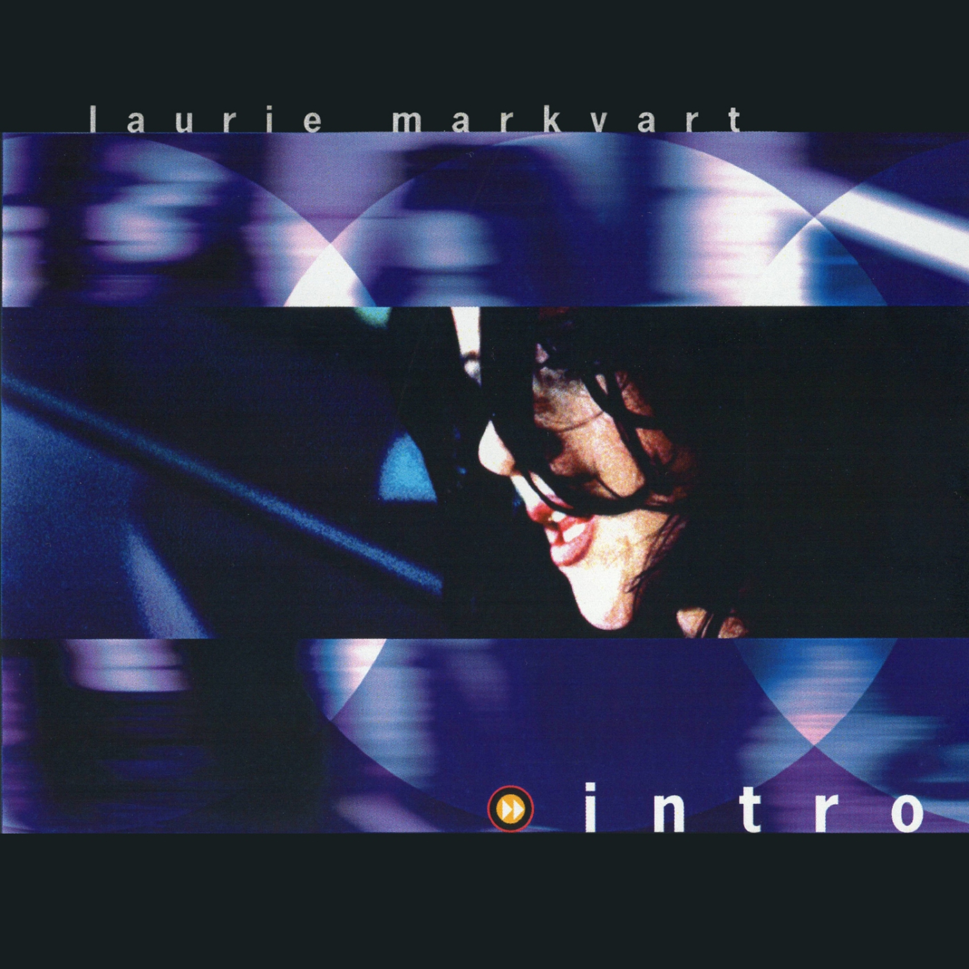 "Cover art of Laurie Markvart's album, ""intro."""